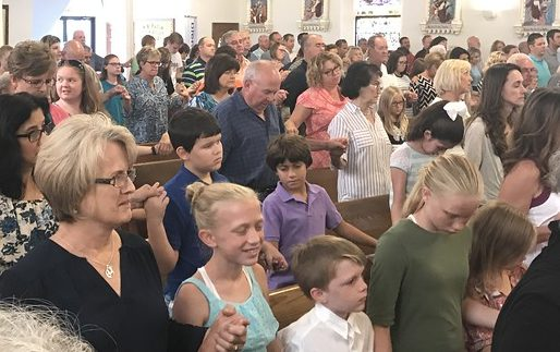 Holding Hands In Church