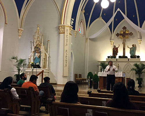 Hispanic Ministry at Sts Joseph and Paul , Owensboro, KY.