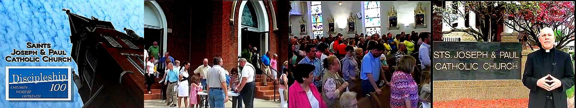 Sts Joseph and Paul Catholic Church Discipleship 100 Video